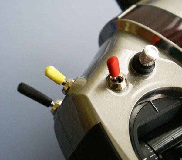 8 Stück Schalterkappen  leuchtgelb 991003