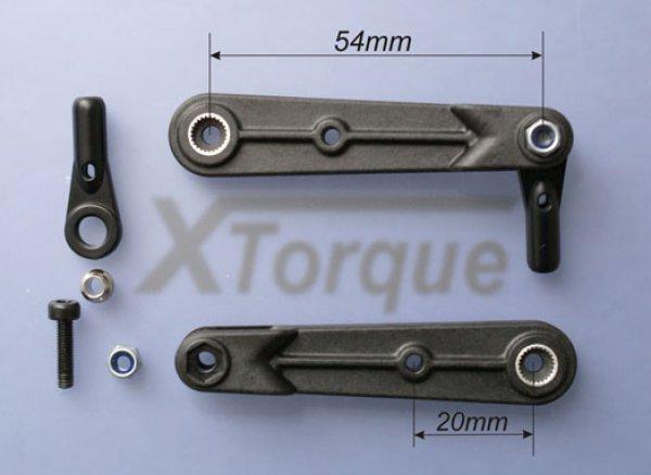 XTorque CFK Gabelservohebel 54  Best.Nr. XT2803