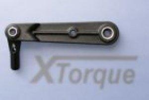 XTorque Gabelservohebel Verzahnung 6mm Dmr.